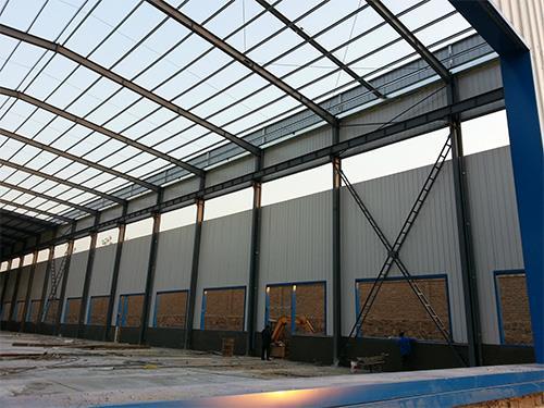 钢结构简易厂房-简易钢结构厂房