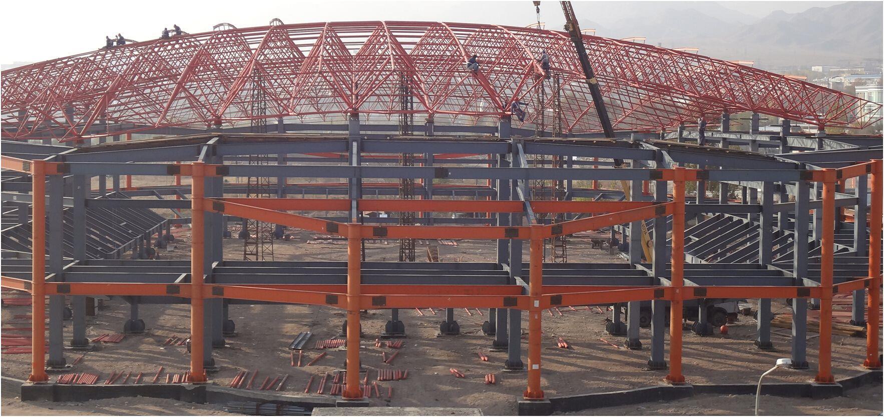 网架钢结构-钢结构网架-轻钢结构网架