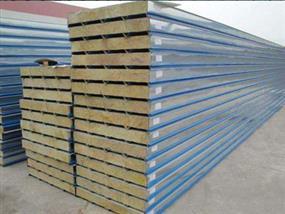 彩钢岩棉复合板-岩棉复合板-岩棉保温复合板