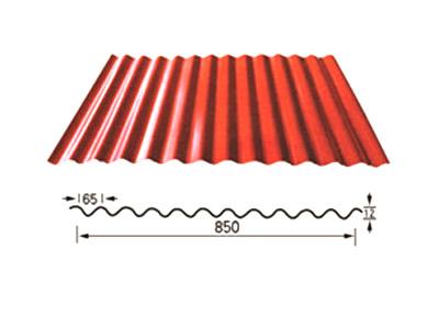 850型压型钢板-弧形彩钢板
