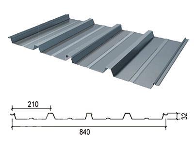 V840型彩钢板-V840隐藏彩钢板