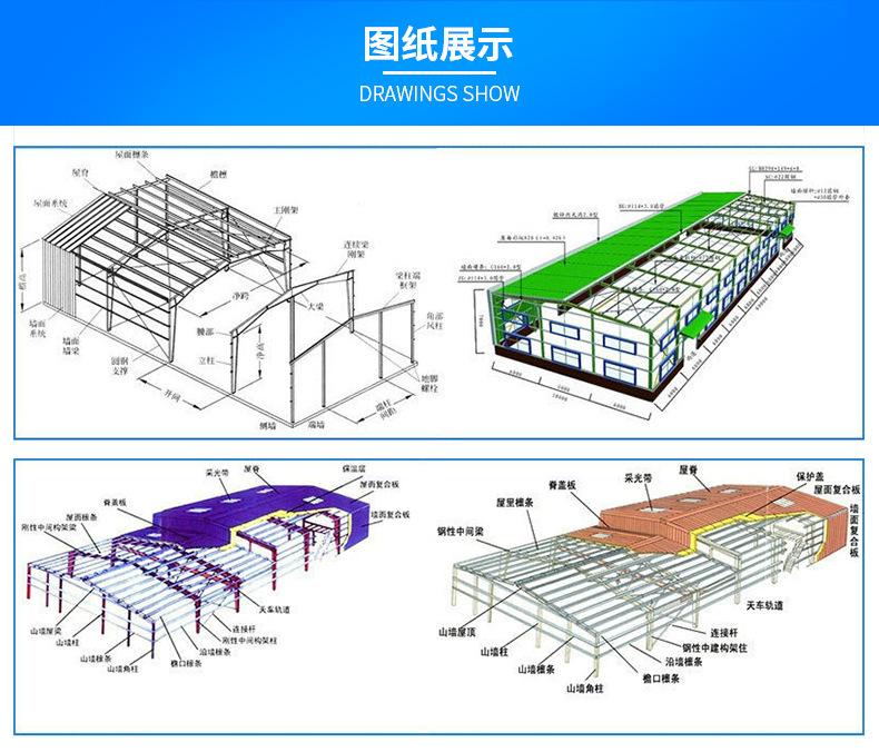 钢结构厂房图纸